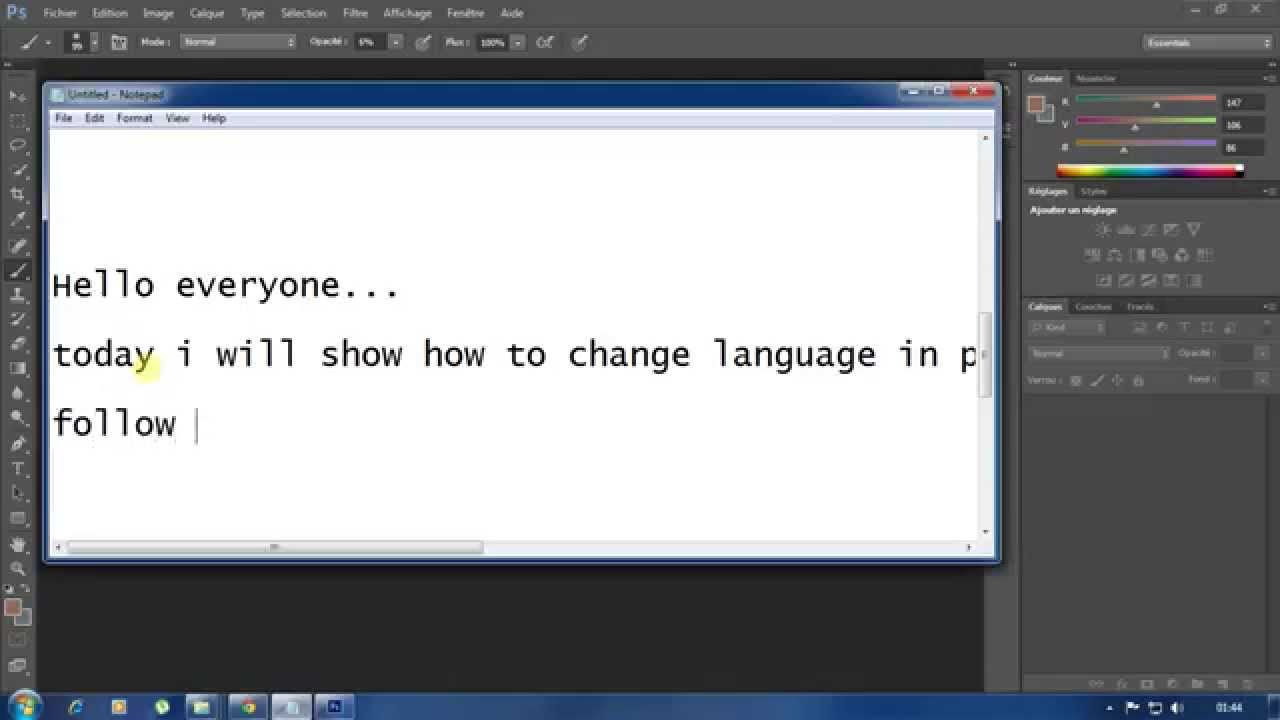 Portable Photoshop Photoshop Cs6 Portable Change Language Into English
