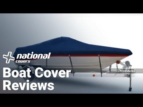 Semi Custom Boat Covers Review: Carver vs. WindStorm - YouTube