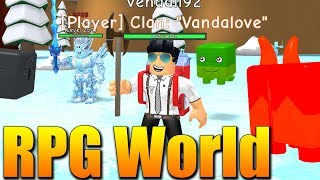 NEW EVENT and NEW ZONE! 😱😍 Roblox RPG World