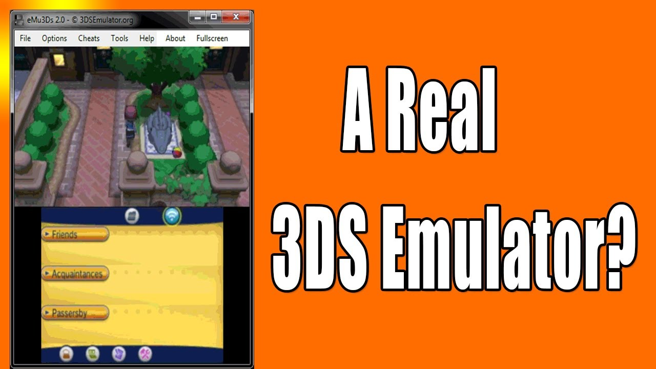 3DS Emulator For PC - Does It Exist? - YouTube