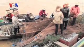 Families Feel Squeeze From Tonle Sap Lake Fishing Net Ban (Cambodia news in Khmer)