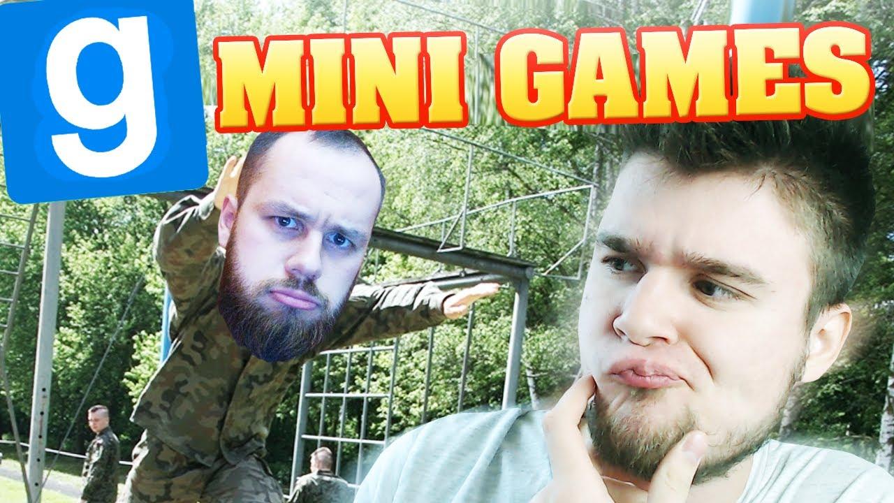 BIEG Z PRZESZKODAMI! | Garry's mod: Minigames [#17] /With: Admiros