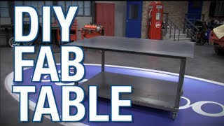 Diy Welding & Fab Table With Mig Welder And Plasma Cutter From Eastwood