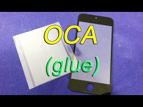 Склейка модуля при помощи OCA пленок и Remove Bubble Machine
