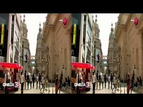 LG 3D DEMO - World Cities - Paris