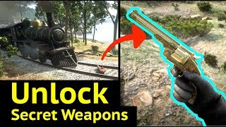 Gambar cover Unlock Secret Rare Weapons in Red Dead Redemption 2 (RDR2): Otis Miller Comics and Revolver