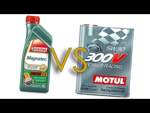 castrol magnatec 5w40 vs motul 300v power racing 5w30 test. Black Bedroom Furniture Sets. Home Design Ideas