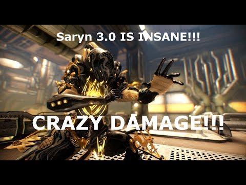 Saryn 3.0 INSANE DAMAGE BUILD!!!