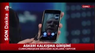 عاجل.. محاولة انقلاب عسكري في تركيا نحن ندعو لأمتنا للخروج إلى الساحة - رجب طيب أردوغان