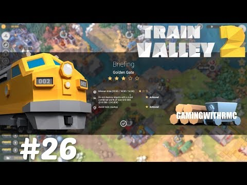 Train Valley 2 Level #26 Golden Gate 5 Stars |