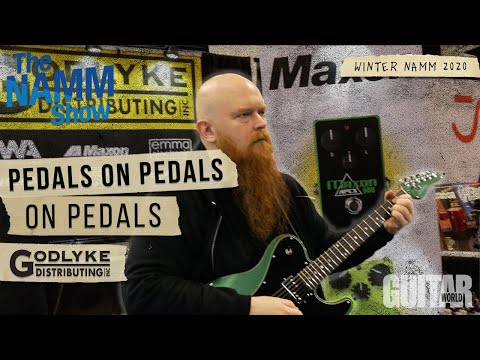 Winter NAMM 2020: PEDALS on PEDALS on PEDALS!!!
