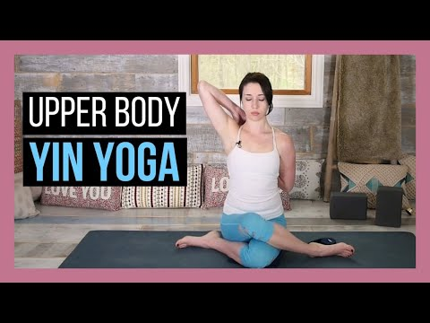 Yin Yoga for Heart & Lung Meridian - Yin Yoga for Chest, Shoulders & Upper Back {45 min}