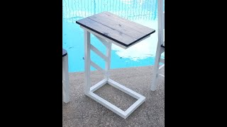 Couch Side Table Build