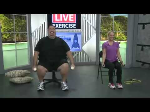 Home Exercises For Obesity Beginner Workout Youtube