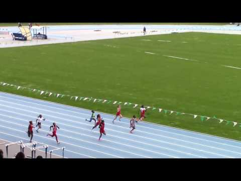 Icahn Stadium Meet-3 - 11/12 girls 200m - Gina Rubio