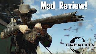 Fallout 4 Handmade Shotgun Creation Club mod review!