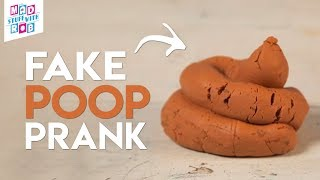 Fake Poop Prank! April Fool&#39s Day Special  MSWR Shorts