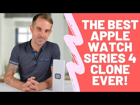 The Best Apple Watch Series 4 Smartwatch Clone Ever!