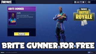 *NEW* How To Get Brite Gunner For Free On Fortnite Battle Royale! (Brite Gunner/Brite Bag)