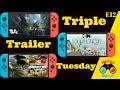 Upcoming Nintendo Switch Game Trailers Sky Ride-Cartoon Network Battle Crashers-Monster Jam Crush it