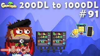 SELLING VIP ACCESS + ALMOST 1000DLS 😱 | 200DL to 1000DL #91 | Growtopia