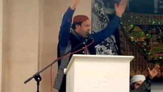 Mehfil-e-Milad Shabaz Qamar Fareedi Easton masjid 25th December 2016