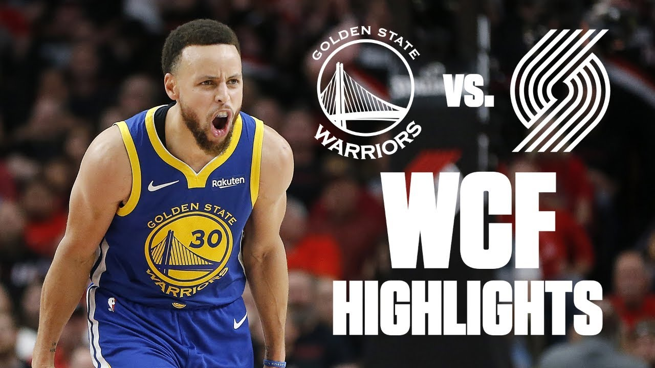Steph Curry unleashed & the best plays of the Blazers-Warriors series | 2019 NBA Playoff Highlights