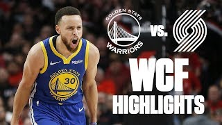 Download Best plays from Warriors' sweep of Blazers in Conference finals | 2019 NBA Playoff Highlights Mp3 and Videos