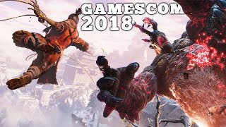 10 Best NEW Announcements of GAMESCOM 2018 thumbnail
