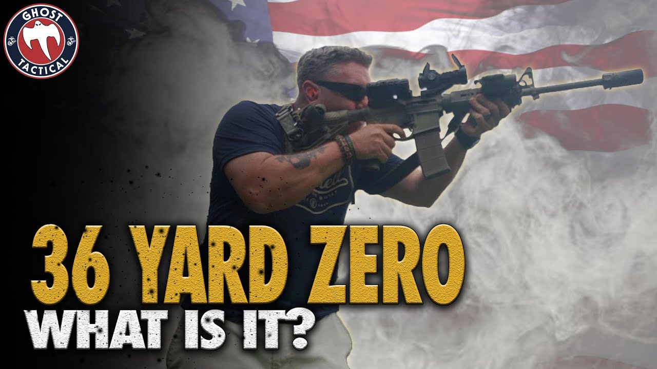 36 Yard Red Dot Zero:  What is it & Why do I use it?