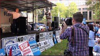 LOCAL DEMOCRACY RALLY - MICHAEL DALEY MP