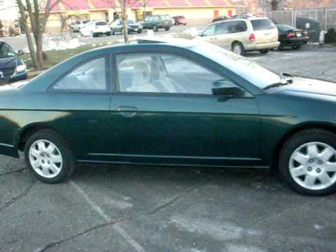 Superior 2001 Honda Civic EX, 2 Door Coupe, Auto, 1.7 V Tec 4cyl, P Roof, $3,995!!!