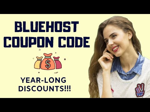 🤑💰Bluehost Coupon Code [2020]: Save Up To 60%??!!🤑💰