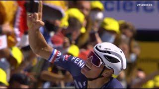 Mathieu van der Poel's Mind-Boggling Attack To Win On The Mur de Bretagne