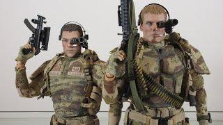 Damtoys Blitzway Universal Soldier Luc Deveraux and Andrew Scott