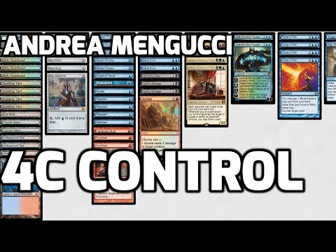 Channel Mengucci - Vintage 4-Color Control (Deck Tech & Matches)