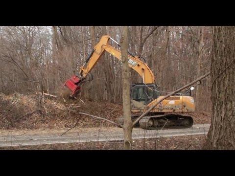 Fecon Excavator Forestry Mulcher Line