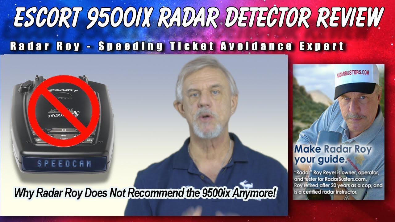 Escort Passport Max >> Escort Passport 9500ix Radar Detector Review - YouTube
