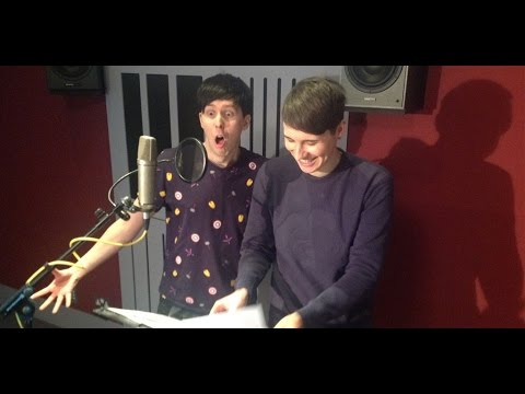 Dan and Phil record for Disney