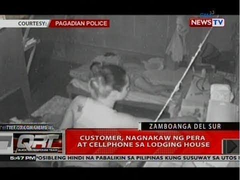 QRT: Customer, nagnakaw ng pera at cellphone sa lodging house