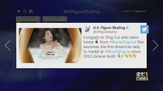 Baltimore Native Wins Bronze Medal At World Junior Figure Skating Championships