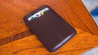 Vaultskin Chelsea Minimalist Wallet Review - One of The Best Slim Wallets Out There!