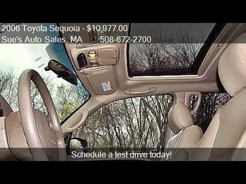 2006 toyota sequoia sr5 v8 for sale in westport ma 02790 youtube. Black Bedroom Furniture Sets. Home Design Ideas