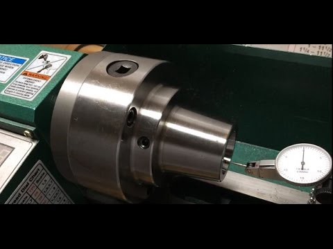 5C Collet Chuck On Grizzly G0765 Mini Lathe