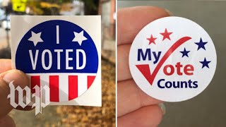 Here's the story behind your 'I Voted' sticker