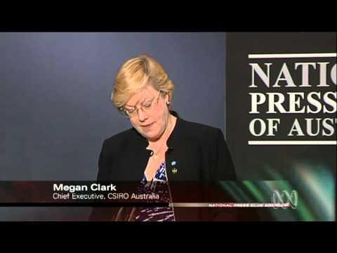 National Press Club: Megan Clark
