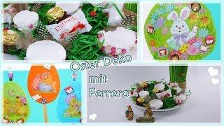 DIY/Ostern/Osterdeko Frühling Selber Basteln/aufhänger/Eier Kerze/Ferrero/Lisa Freundeskreis/Teil 2