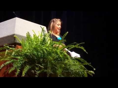 Shawn Johnson Speaking at the University of Memphis - YouTube