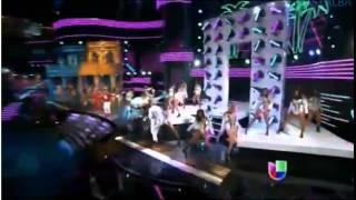 Pitbull y Gente de Zona en Premio  Lo Nuestro 2015 - Yo Quiero 19/02/15