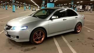 VLOG крашу жидкой резиной диски,замена колес.Honda Accord 7